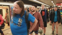 Prague No Pants Subway Ride 2018 - part 3