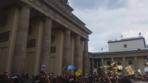 Demonstrace Berlin 27.5.2018