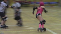 roller derby / hard breaking dolls vs. dusty steelers PART 1