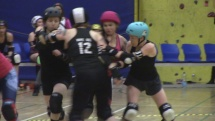 roller derby / hard breaking dolls vs. dusty steelers PART 2