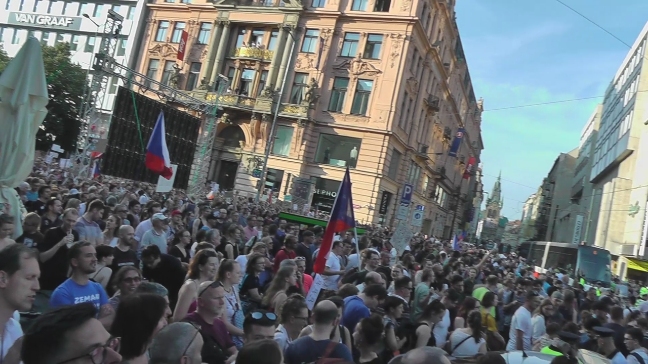 Demonstrace proti Babišovi, 4.6.2019