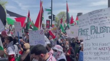 Chicago Nedelni protesty palestincu